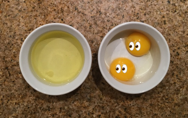 How to seperate eggs