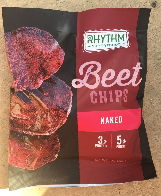 Starbucks Rhythm Superfoods Beet Chips